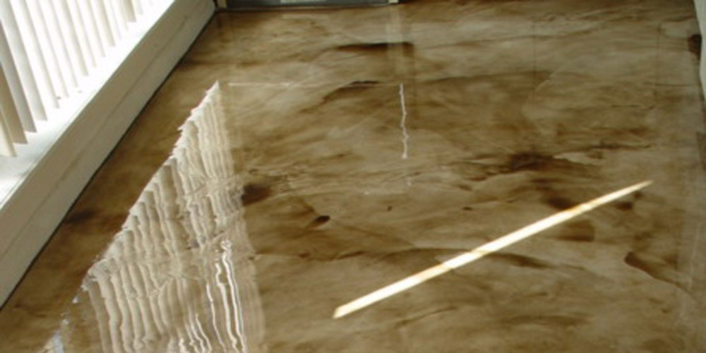 Self Leveling Finishes : Interior gallery custom epoxy finishes floor and wall